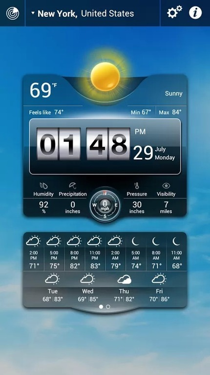 Weather Live v1.7.1 | ApkLife-Android Apps Games Themes | Android Applications And Games | Scoop.it