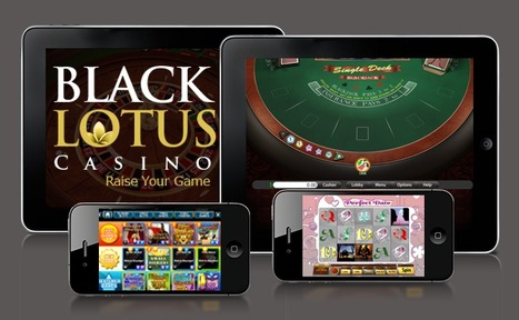 Play with Black Lotus Casino on Your Mobile | Online Casino Reports Australia | Online Casino Games | Scoop.it