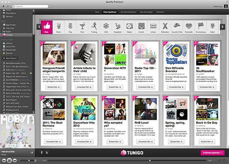 L'appli de la semaine : Tunigo | Musique sociale | Scoop.it