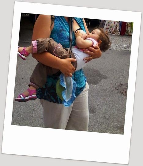 J'voudrais juste dire un truc: Le portage d'un BB avec un Reflux EN VRAI | Moyen de portage (écharpe, porte-bébé...) | Scoop.it