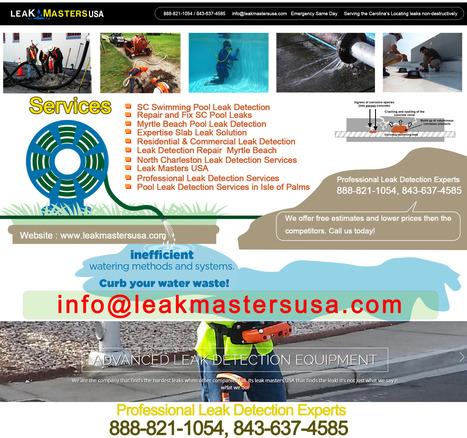 Slab Leak Detection Repair Charleston SC   Leak Masters USA   Scoop.it
