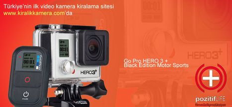 Kiralık GoPro Hero3 + Kamera | Kiralık Kamera, Rental Camera House, In Turkey | Scoop.it