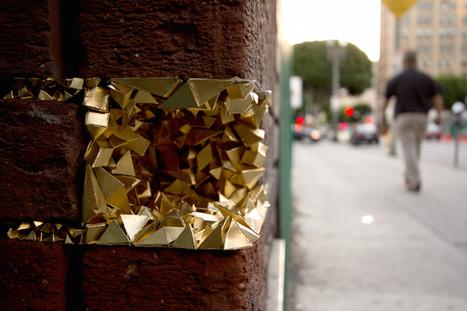 Une artiste comble les failles de la ville pour qu'elle retrouve son éclat | Actu de l'Aménagement Urbain | Scoop.it