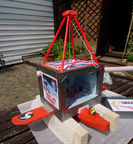 El Reg Playmonaut soars to 113,000ft • The Register | Arduino, Netduino, Rasperry Pi! | Scoop.it