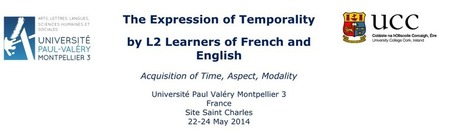 The Expression of Temporality by L2 Learners of French and English: Conference Montpellier, May 2014 | TELT | Scoop.it
