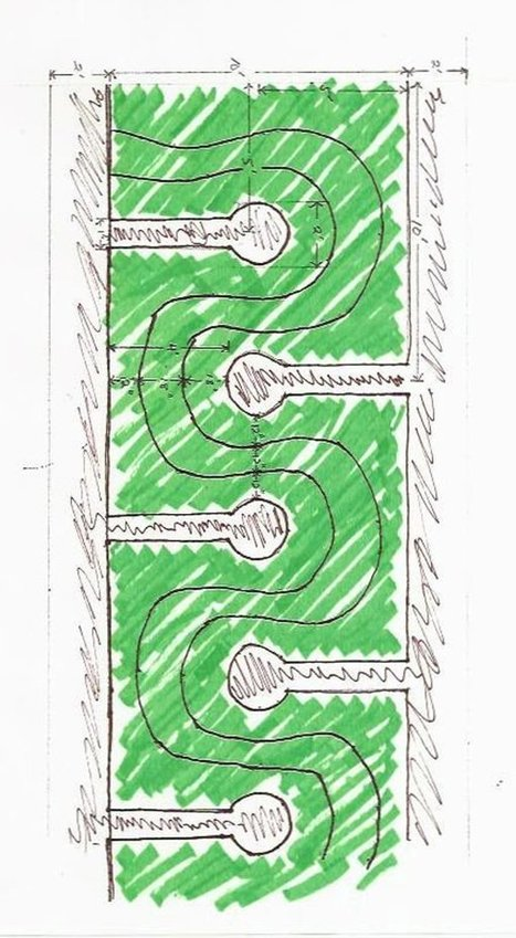 Double Keyhole pattern design | Think Like a Permaculturist | Scoop.it