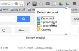 'Google Drive Quick Create' Chrome Extension | iGeneration - 21st Century Education | Scoop.it