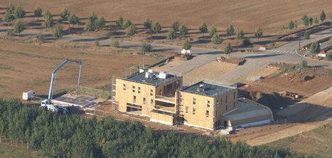 Convivium, bâtiment à énergie positive à ossature bois | Construction Durable | Scoop.it