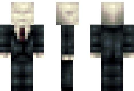 PixeledMe Minecraft | Slender Man Minecraft Skin | derp | Scoop.it