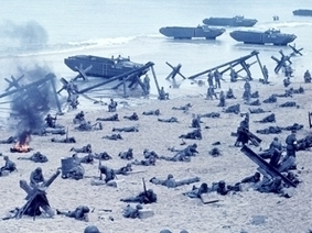Secondary Source Two: D-Day - World War II - HISTORY.com | Invasion Of Normandy (D-Day) | Scoop.it