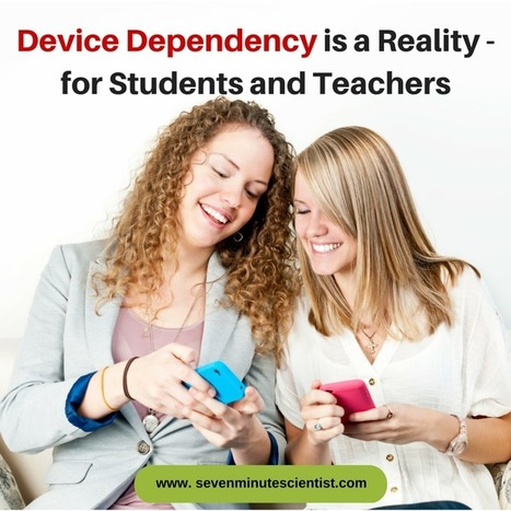 "Quit Telling Me to Get off My Phone. I have ""Device Dependency"" 