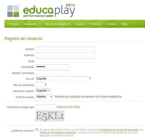 Tutorial Educaplay: Cómo registrarse y hacer una actividad tipo test | Tic, Tac... y un poquito más | Scoop.it