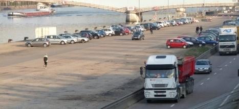 Les quais de Rouen ne seront pas rouverts aux poids lourds   Actualités de Rouen et de sa région   Scoop.it