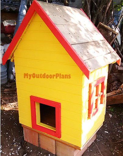 Small Chicken Coop | Free Outdoor Plans - DIY Shed, Wooden Playhouse, Bbq, Woodworking Projects | Garden Plans | Scoop.it