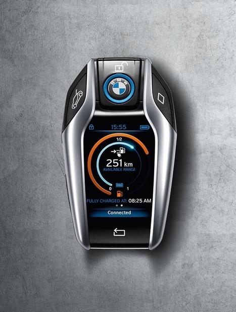 BMW i8 Key May Change Car Keys Forever | Just Good Design | Scoop.it