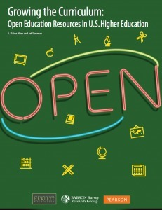 Babson Report on OER in US Higher Education | IT in Higher Education | Scoop.it