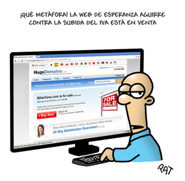 La subida del IVA retrata a Esperanza Aguirre - El Plural | Partido Popular, una visión crítica | Scoop.it