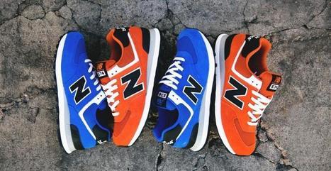 New Balance : Les sneakers bleu électrique et orange du Varsity pack - meltyStyle | Sneakers_me | Scoop.it