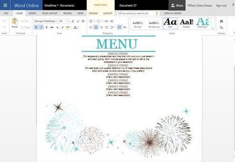 Event Menu Maker Template for Word   Free Microsoft Word Templates   Scoop.it