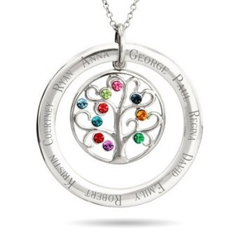 Circle Necklace with Kids Names | Best Gifts 2015 - Unique Gift Ideas | Scoop.it