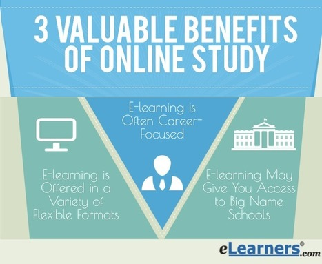 Added Value in E-Learning: 3 Valuable Benefits of Online Study | Online Education | Scoop.it