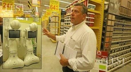 Territoire de Belfort : deux robots vendeurs à Bricorama | Une nouvelle civilisation de Robots | Scoop.it