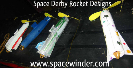 Space Derby Rocket Designs | Space Winder | Scoop.it