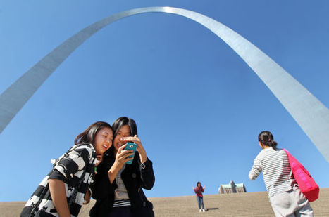 Gateway Arch placed on World Monuments Fund watch list - STLtoday.com   History   Scoop.it
