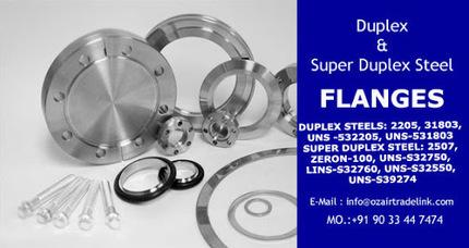 Duplex &amp; Super Duplex Steel Flanges<br/>&hellip; | Gaurav Steel | Scoop.it