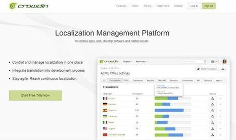Crowdin, plataforma para la traducción de proyectos a múltiples idiomas | Educación a Distancia e-learning | Scoop.it