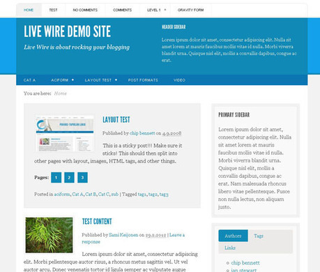 12 New Free Responsive Wordpress Themes [June 2012] | Design Inspiration | Coding (HTML5, CSS3, Javascript, jQuery ...) | Scoop.it