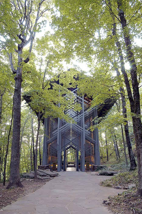 [Arkansas , USA] The Thorncrown Chapel   The Architecture of the City   Scoop.it