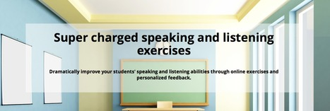 Online Speaking and Listening Exercises | Speech Peek | Language Learning Methods | Scoop.it