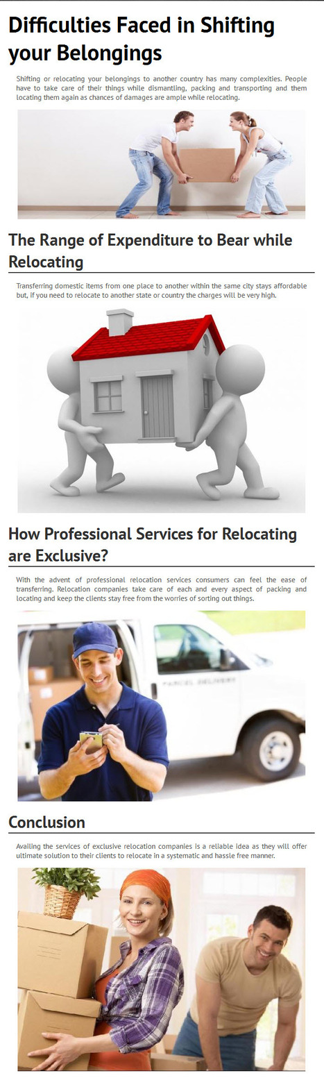 The Prominent Features which Professional Relocation Services follow by www.fastwayindia.com   fastwayindia   Scoop.it
