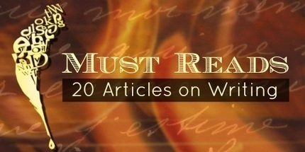 20 Writing Tips: This Week's Most Popular Writing Articles | Self Publishing | Scoop.it
