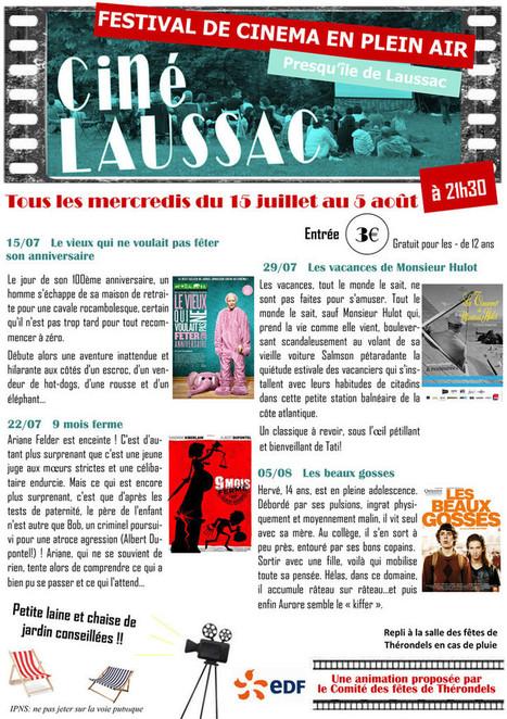 Programme de Ciné Laussac 2015 - Festival de Cinéma en plein air dans le Carladez | Carladez - Aveyron | Scoop.it