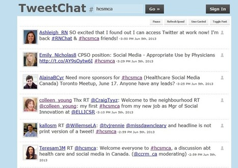 Can Tweet chats improve health literacy? | Health Care Social Media Monitor | Scoop.it
