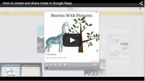 Free Technology for Teachers: How to Create, Edit, and Share Notes on Google Keep * by Richard Byrne | Into the Driver's Seat | Scoop.it