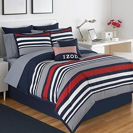 Izod Varsity Stripe Comforter Set - Trendzic | Create Rockin' Rooms | Scoop.it