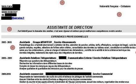 Le CV de Katia, assistante de direction, décrypté par Gilles Payet | Réussir son CV | Scoop.it