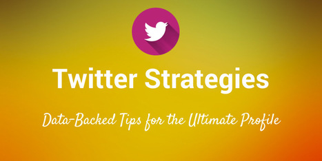 3 Data-Backed Twitter Strategies for More Followers, Better Tweets, Maximum Engagement | Public Relations & Social Media Insight | Scoop.it
