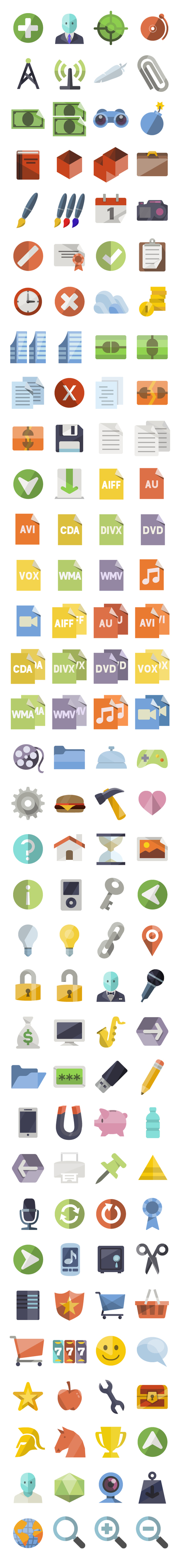 Flat icons | Mes ressources personnelles | Scoop.it