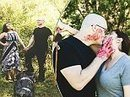 Texan couple choose bizarre MURDER theme for their engagement shoot | Strange days indeed... | Scoop.it