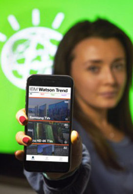 IBM releases the Watson Trend mobile app to find trendy gifts | Mobile devices - Internet of Things - drones | Scoop.it