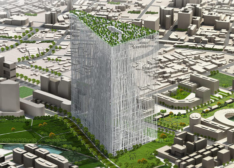 Futuristic Taiwan Tower Draws Inspiration from Banyan Tree | sustainable architecture | Scoop.it