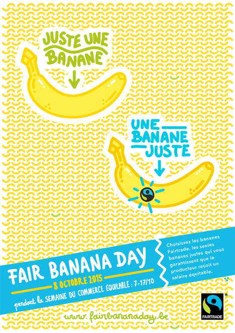 Fair Banana Day | Fairtrade Belgium | Commerce équitable et durable | Scoop.it