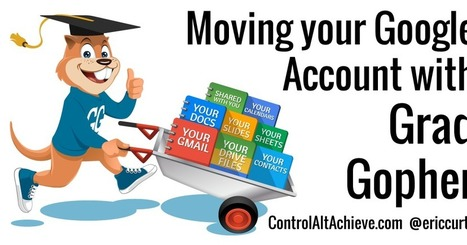 Control Alt Achieve: You can take it with you! Moving your Google account with GradGopher | Strictly pedagogical | Scoop.it