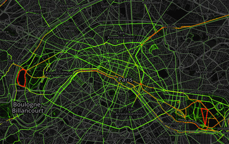Strava Metro, un outil de planification urbaine basé sur le vélo | PDE | Scoop.it