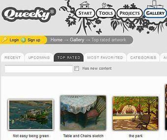 Dessiner en ligne avec Queeky   Au fil du Web   Scoop.it