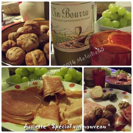 ♥ Les Gourmandises de Melodie68 ♥: Plat du jour : Assiette d'automne | Cuisine & Déco de Melodie68 | Scoop.it